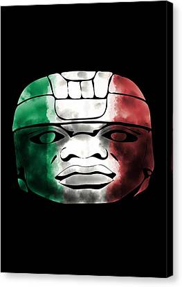 Mexican Olmec Canvas Print