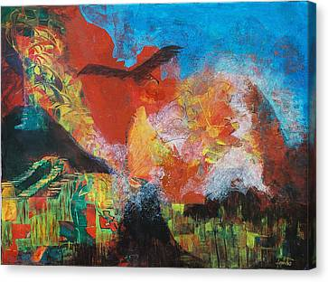 Mexico Canvas Print by Frances Bourne
