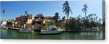 Canvas Print featuring the photograph Mexico Memories 5 by Victor K