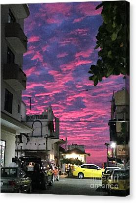 Canvas Print featuring the photograph Mexico Memories 1 by Victor K