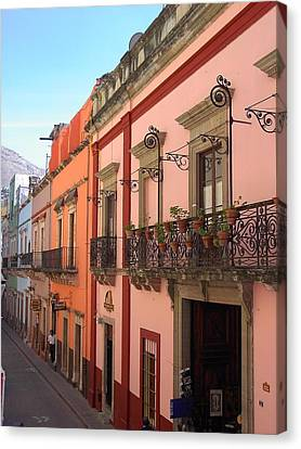 Canvas Print featuring the photograph Mexico by Mary-Lee Sanders