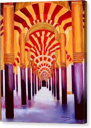 Mezquita De Cordoba Canvas Print by Manuel Sanchez