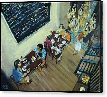 Mezzanine's Canvas Print by Edward Williams
