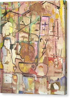 Mezzo Four Canvas Print by James Christiansen