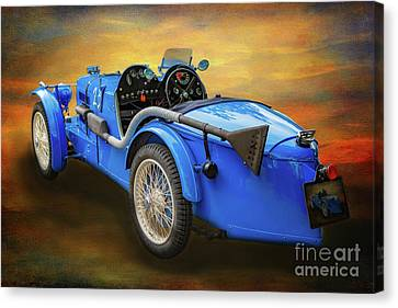 Mg Sports Car Canvas Print
