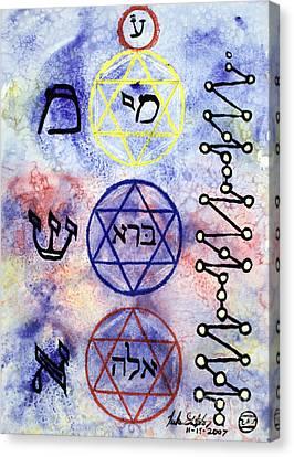 Mi Bara Elay Canvas Print by Luke Galutia