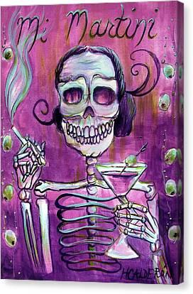 Mi Martini Canvas Print by Heather Calderon