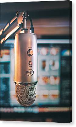 Mic Check 1 2 3 Canvas Print