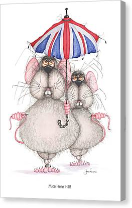 Mice Here In'it Canvas Print by John Faulkner