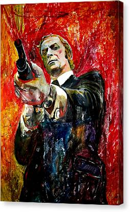 Get Carter Movie Canvas Print - Michael Caine - Get Carter by Marcelo Neira