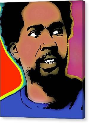 Michael Canvas Print - Michael Dawson Coloured by Otis Porritt