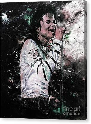 Michael Jackson 01  Canvas Print by Gull G