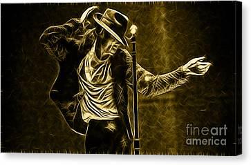 Michael Jackson Collection Canvas Print