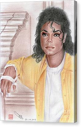 Michael Jackson - Come Together Canvas Print