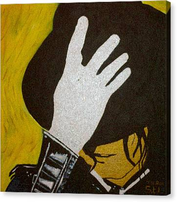 Michael Jackson Canvas Print by Estelle BRETON-MAYA