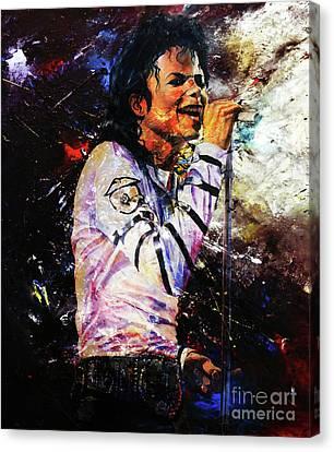 Michael Jackson  Canvas Print by Gull G
