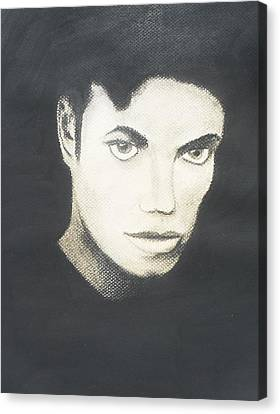 Michael Jackson Canvas Print by M Valeriano