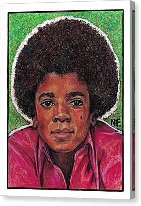Michael Jackson Canvas Print - Michael Jackson by Neil Feigeles