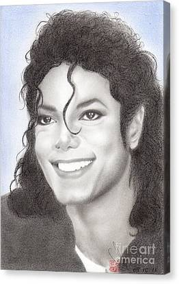 Michael Jackson #nineteen Canvas Print by Eliza Lo