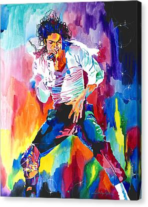 Selecting Canvas Print - Michael Jackson Wind by David Lloyd Glover