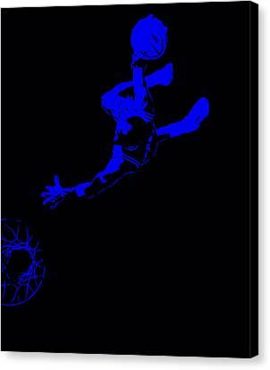Michael Jordan Above The Rim Canvas Print