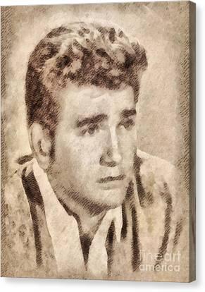 Michael Landon, Actor, Little House On The Prairie Canvas Print