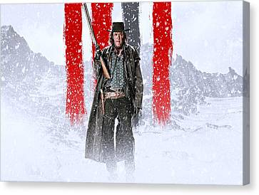 Michael Madsen The Hateful Eight Canvas Print by Movie Poster Prints