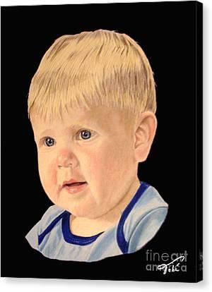 Michael Canvas Print by Tobi Czumak