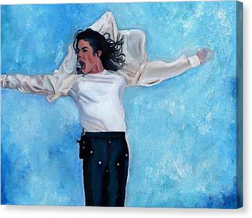 Michael Canvas Print by Vel Verrept