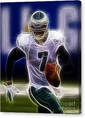 Michael Vick - Philadelphia Eagles Quarterback Canvas Print by Paul Ward
