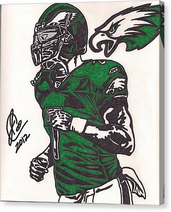 Micheal Vick Canvas Print by Jeremiah Colley