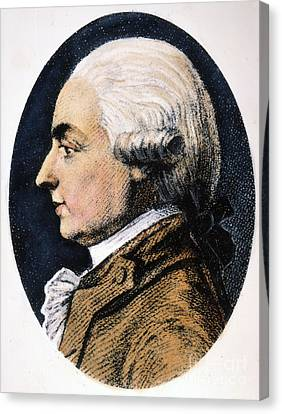 Michel G.j. De Crevecoeur Canvas Print by Granger