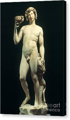 Michelangelo: Bacchus Canvas Print