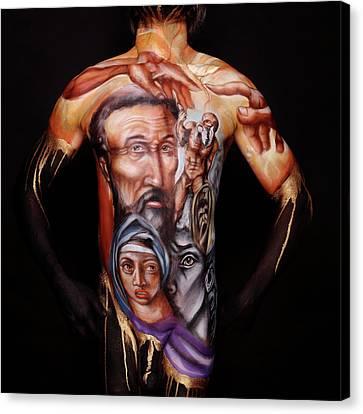 Michelangelo_i Canvas Print by Cully Firmin