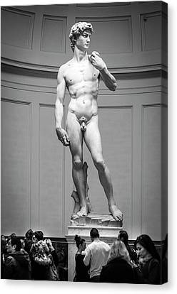 Michelangelo's David Canvas Print