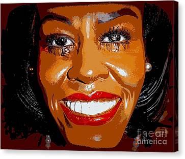 Michelle Canvas Print by Ed Weidman