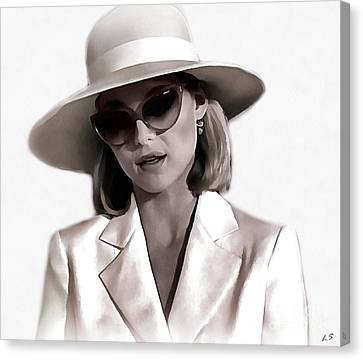 Michelle Pfeiffer Canvas Print
