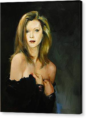 Michelle Pfeiffer Canvas Print by Tigran Ghulyan