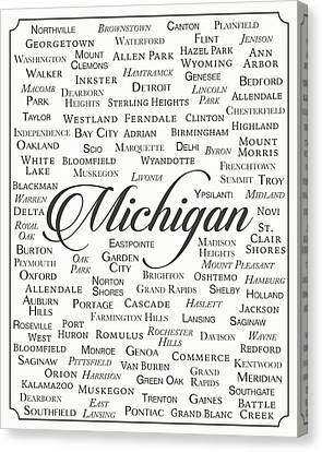 Michigan Canvas Print by Finlay McNevin