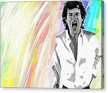 Mick Canvas Print