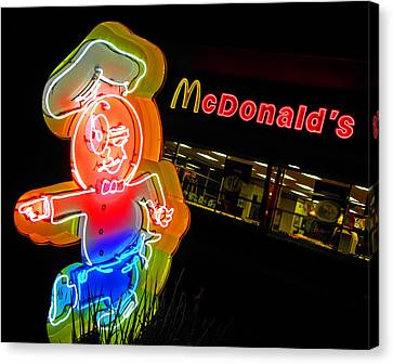 Mickey D's Canvas Print