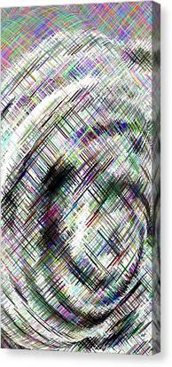 Micro Linear 16 Canvas Print