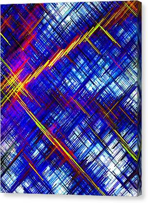 Micro Linear 6 Canvas Print by Will Borden