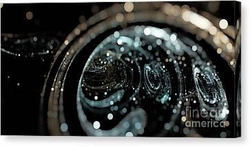 Microscopic IIi - Opale Canvas Print