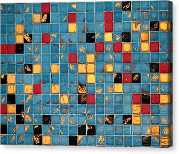 Mid Century Tiles Canvas Print by Christopher Woods