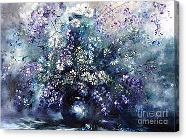 Mid Spring Blooms Canvas Print