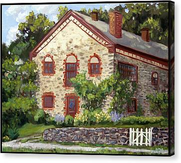 Mid-summer Morning Canvas Print by Edward Williams