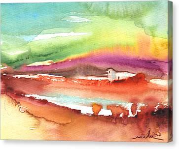 Cortijo Canvas Print - Midday 12 by Miki De Goodaboom