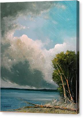 Midday Clouds Canvas Print
