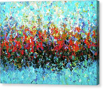 Middle Earth Abstract Canvas Print by Georgiana Romanovna